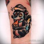 Фото татуировки со скунсом 28.03.2021 №522 - Skunk tattoo - tatufoto.com
