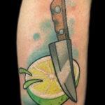 Фото татуировки с лаймом 31.03.2021 №227 - lime tattoo - tatufoto.com