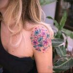 Фото татуировки цветок гортензия 31.03.2021 №113 - tattoo hydrangea - tatufoto.com