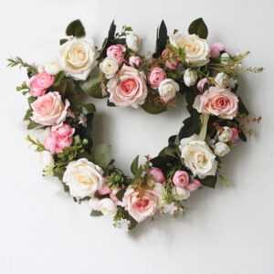 Сердца из цветов - фото 2