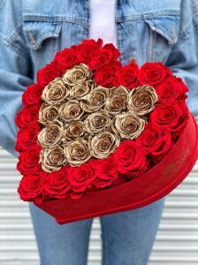 Сердца из цветов - фото 3