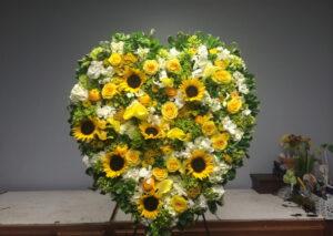 Сердца из цветов - фото 4