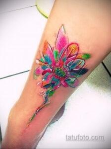 Фото интересного рисунка женской тату 05.04.2021 №001 - female tattoo - tatufoto.com