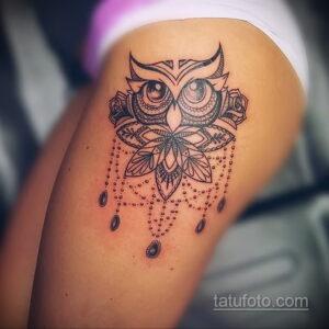 Фото интересного рисунка женской тату 05.04.2021 №011 - female tattoo - tatufoto.com