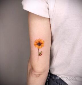 Фото интересного рисунка женской тату 05.04.2021 №014 - female tattoo - tatufoto.com