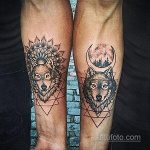Фото интересного рисунка женской тату 05.04.2021 №016 - female tattoo - tatufoto.com