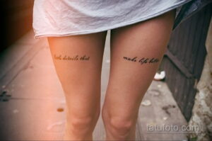 Фото интересного рисунка женской тату 05.04.2021 №022 - female tattoo - tatufoto.com