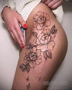 Фото интересного рисунка женской тату 05.04.2021 №024 - female tattoo - tatufoto.com