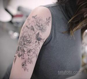Фото интересного рисунка женской тату 05.04.2021 №036 - female tattoo - tatufoto.com