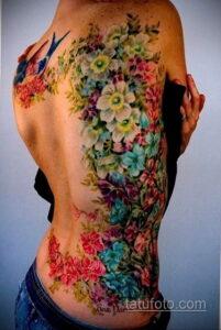 Фото интересного рисунка женской тату 05.04.2021 №050 - female tattoo - tatufoto.com