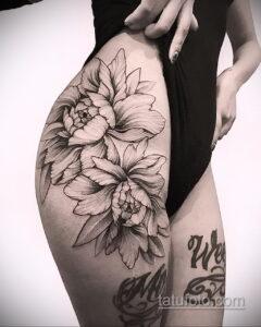 Фото интересного рисунка женской тату 05.04.2021 №052 - female tattoo - tatufoto.com