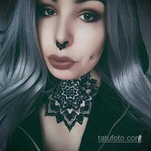 Фото интересного рисунка женской тату 05.04.2021 №079 - female tattoo - tatufoto.com