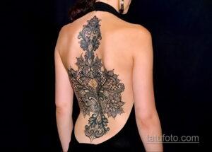 Фото интересного рисунка женской тату 05.04.2021 №084 - female tattoo - tatufoto.com