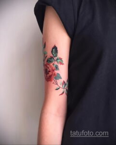 Фото интересного рисунка женской тату 05.04.2021 №097 - female tattoo - tatufoto.com