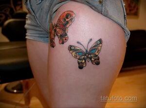 Фото интересного рисунка женской тату 05.04.2021 №099 - female tattoo - tatufoto.com