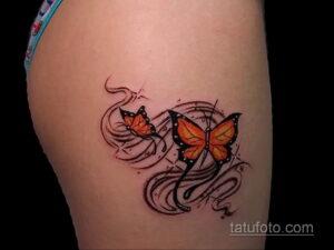 Фото интересного рисунка женской тату 05.04.2021 №105 - female tattoo - tatufoto.com