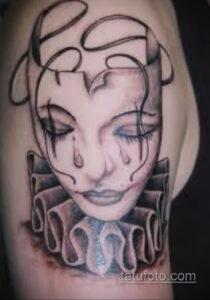 Фото интересного рисунка женской тату 05.04.2021 №112 - female tattoo - tatufoto.com