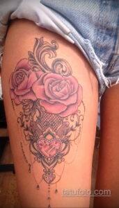 Фото интересного рисунка женской тату 05.04.2021 №115 - female tattoo - tatufoto.com