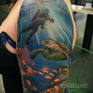 Фото интересного рисунка женской тату 05.04.2021 №117 - female tattoo - tatufoto.com