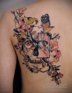 Фото интересного рисунка женской тату 05.04.2021 №122 - female tattoo - tatufoto.com