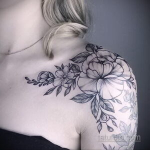 Фото интересного рисунка женской тату 05.04.2021 №127 - female tattoo - tatufoto.com
