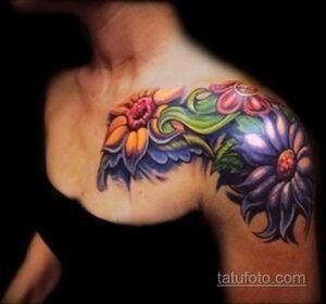 Фото интересного рисунка женской тату 05.04.2021 №135 - female tattoo - tatufoto.com