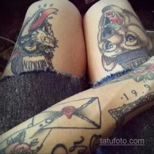 Фото интересного рисунка женской тату 05.04.2021 №139 - female tattoo - tatufoto.com