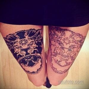 Фото интересного рисунка женской тату 05.04.2021 №142 - female tattoo - tatufoto.com