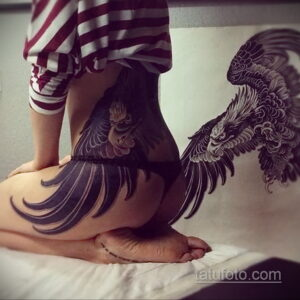 Фото интересного рисунка женской тату 05.04.2021 №146 - female tattoo - tatufoto.com
