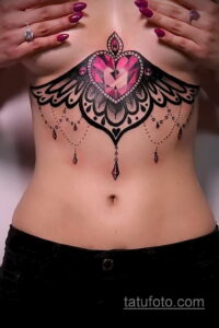Фото интересного рисунка женской тату 05.04.2021 №157 - female tattoo - tatufoto.com