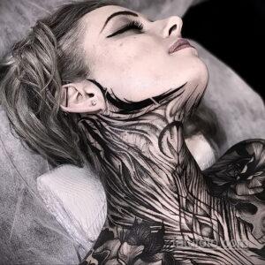 Фото интересного рисунка женской тату 05.04.2021 №161 - female tattoo - tatufoto.com