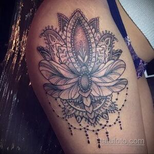 Фото интересного рисунка женской тату 05.04.2021 №166 - female tattoo - tatufoto.com
