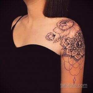 Фото интересного рисунка женской тату 05.04.2021 №173 - female tattoo - tatufoto.com