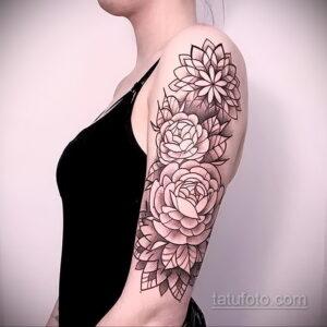 Фото интересного рисунка женской тату 05.04.2021 №178 - female tattoo - tatufoto.com