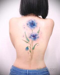 Фото интересного рисунка женской тату 05.04.2021 №183 - female tattoo - tatufoto.com