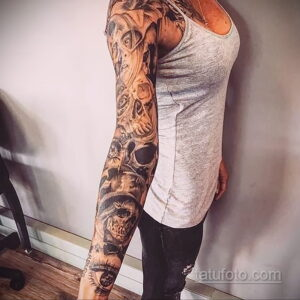 Фото интересного рисунка женской тату 05.04.2021 №187 - female tattoo - tatufoto.com