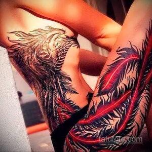 Фото интересного рисунка женской тату 05.04.2021 №209 - female tattoo - tatufoto.com