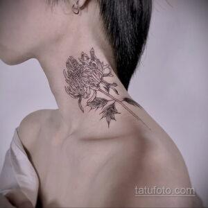 Фото интересного рисунка женской тату 05.04.2021 №217 - female tattoo - tatufoto.com