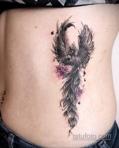 Фото интересного рисунка женской тату 05.04.2021 №219 - female tattoo - tatufoto.com