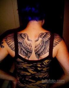 Фото интересного рисунка женской тату 05.04.2021 №228 - female tattoo - tatufoto.com