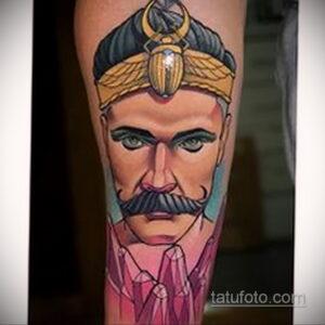 Фото интересного рисунка мужской тату 05.04.2021 №001 - male tattoo - tatufoto.com