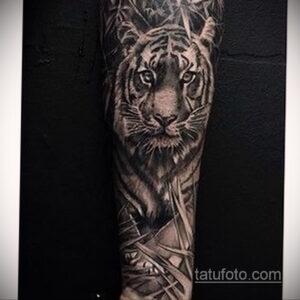 Фото интересного рисунка мужской тату 05.04.2021 №011 - male tattoo - tatufoto.com