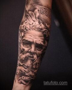 Фото интересного рисунка мужской тату 05.04.2021 №022 - male tattoo - tatufoto.com