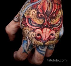 Фото интересного рисунка мужской тату 05.04.2021 №045 - male tattoo - tatufoto.com
