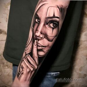 Фото интересного рисунка мужской тату 05.04.2021 №054 - male tattoo - tatufoto.com