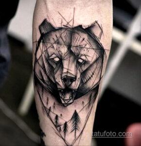 Фото интересного рисунка мужской тату 05.04.2021 №071 - male tattoo - tatufoto.com