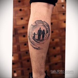 Фото интересного рисунка мужской тату 05.04.2021 №076 - male tattoo - tatufoto.com