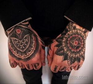 Фото интересного рисунка мужской тату 05.04.2021 №083 - male tattoo - tatufoto.com