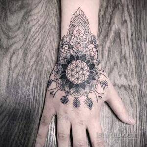 Фото интересного рисунка мужской тату 05.04.2021 №094 - male tattoo - tatufoto.com
