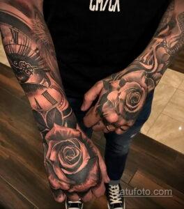 Фото интересного рисунка мужской тату 05.04.2021 №095 - male tattoo - tatufoto.com